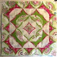 3D Flying Geese Quilt Pattern | FaveQuilts.com & 3D Flying Geese Quilt Pattern Adamdwight.com