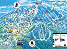 northstar at tahoe piste map  trail map