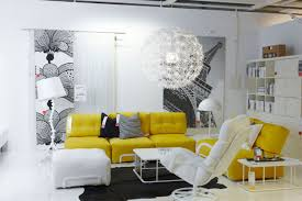 cream furniture living room. yellow living room furniture cream stripes leather comfy cushion i