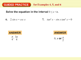 guided practice for examples 4 5 and 6 solve the equation in the