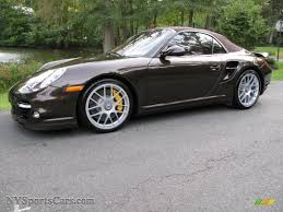 2011 Porsche 911 Turbo S Cabriolet in Macadamia Metallic - 773213 ...