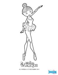 Coloriage Petite Danseuse
