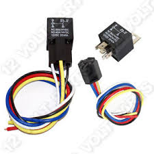 v volt a spdt pin automotive relay wire socket image is loading 12v 12 volt 30 40a spdt 5 pin