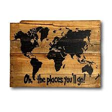 oh the places you ll go wood map wall art dr seuss on dr seuss oh the places youll go wall art with amazon oh the places you ll go wood map wall art dr seuss