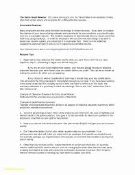 Emt Resume Objective Examples 50 Emt Resume With No Experience