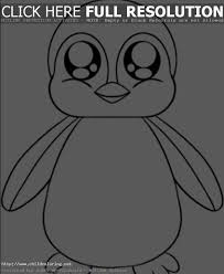 Cute Baby Penguin Coloring Clipart Panda Free Clipart Images