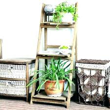 bakers rack plant stand outdoor racks chrome kitchen wooden