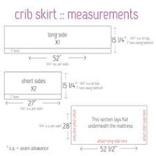 Crib Skirt Pattern Custom DIY Tutorial Sew Your Own Crib Skirt Ewsassycreations