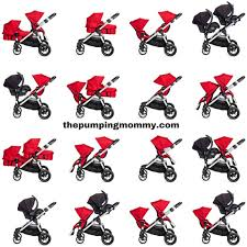 baby jogger city select stroller 2nd seat ruby