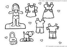 Small Picture Dress coloring pages 123 paper dolls Pinterest Kids