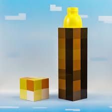 Minecraft Light Up Torch Uk Minecraft Torch Water Bottle