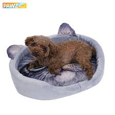 Dog Sleep Pattern Beauteous Lovely Cat 48D Realistic Pattern Pet Bed Soft Kennel For Puppy Pet