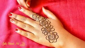 Simple And Easy Henna Designs For Hands Simple And Easy Arabic Mehndi Design Back Hands 2018