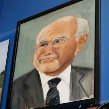 george w bush s portrait of john howard