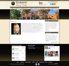 University Of Houston Web Design Gordon Luxury Realty Houston Web Design Social Media