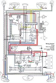 vw bug wiring diagram vw wiring diagrams online thesamba com type 1 wiring diagrams