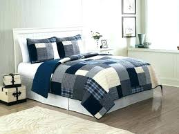 blue quilts queen size medium of navy bedding sets king white patchwork teen boy twin full