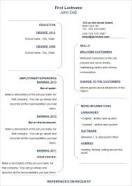 resume sample doc 70 basic resume templates pdf doc psd free premium templates