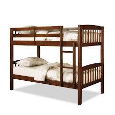 Dorel Belmont Twin Bunk Bed - Walnut