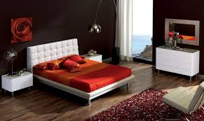 Shiny White Bedroom Furniture Raya Furniture - Red gloss bedroom furniture