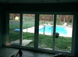 installing sliding patio door sliding door cost installation s s s s vinyl sliding door sliding door cost installation