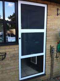 fly screen pet door