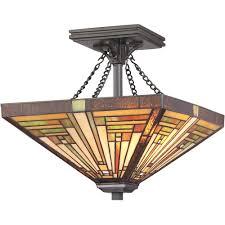 tf885svb quoizel lighting tf885svb stephen semi flush mount in vintage bronze allquoizellighting
