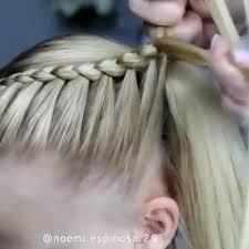 Pin Uživatele Janička Na Nástěnce Vlasy V Roce 2019 Zapletené