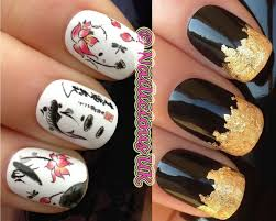 nail art set 118. koi carp fish lilly japanese water