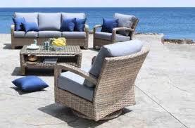 pacific outdoor wicker patio furniture conversation set