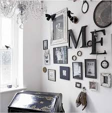 Marvelous Black And White Wall Decor Photos With Stained Wall Unit And  Decorative Lights In Your Best Bedroom