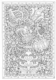 Difficult Flower Coloring Pages Getcoloringpagescom