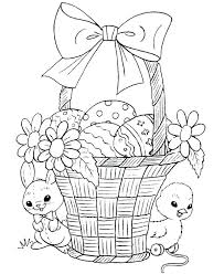 Free Coloring Pages For Easter Printable