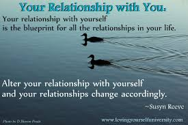 Relationship With Yourself Quotes Best of Your Relationship With Yourself Is The Blueprint For All The