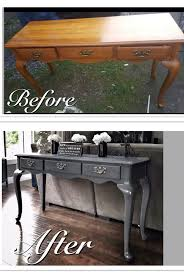 diy furniture refinishing projects. before u0026 after old run down sofa table refinished in a mod grey changes the refurbishing furniturerepurposed furniturefurniture projectsdiy diy furniture refinishing projects