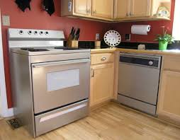 range and dishwasher painted stainless steel