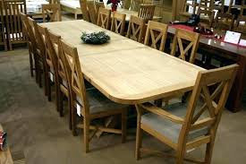 contemporary design extra long dining table seats 12 long dining room tables large round table seats