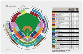 Washington National Seating Chart Views Reasonable Washington Nationals Seat Map Washington