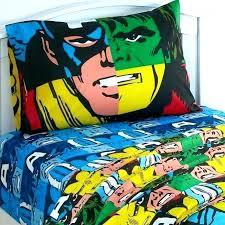 superhero marvel bed sheets for s bedding full size queen comforter set ultimate spider man twin superhero bedding full