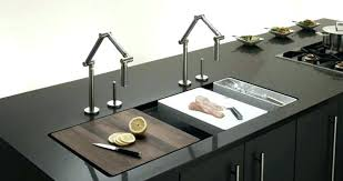 sink cutting board kitchen