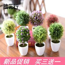 get ations desktop small potted plants artificial flowers artificial flowers artificial plants bonsai tree decorated living room tree