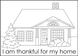 House Coloring Pages - GetColoringPages.com