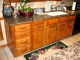 Honey Oak Kitchen Cabinets honey oak retrofit 8987 by xevi.us