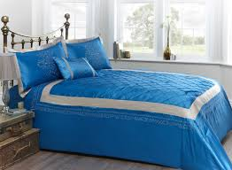 blue bed sheets tumblr. Bedroom. Blue White Bed Sheet And Pillows On The Golden Steel Placed Sheets Tumblr M