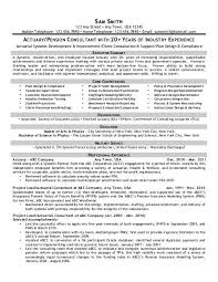 Actuary Pension Consultant Front Runner Resume Writing
