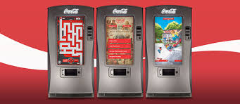 Interactive Vending Machine Adorable Coca Cola Interactive Vending Machine On Behance