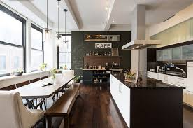 contemporary kitchen office nyc. PETI LAU INC, Union Square Bachelor Pad Contemporary Kitchen Office Nyc S
