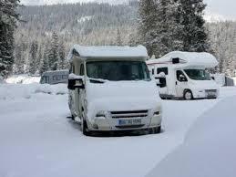 Tipps Fürs Wohnmobil Im Winter Isolieren Und Abstellen Auto