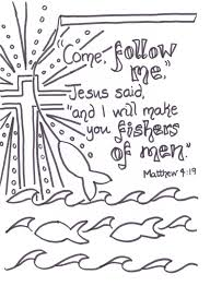 lake for they were fishermen come follow me jesus said and i will ...