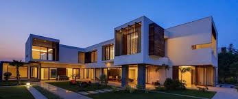 modern houses architecture. Opulence Meets Contemporary Architecture In New Delhi, India : E4 House Modern Houses S